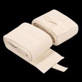 Spesifikasi 2 Pcs 2 4 M Tinju Handwraps Perban Mma Training Wrist Melindungi Fist Putih Intl Murah Berkualitas