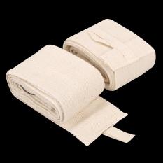 2 Pcs 2 4 M Tinju Handwraps Perban Mma Training Wrist Melindungi Fist Putih Intl Oem Murah Di Tiongkok