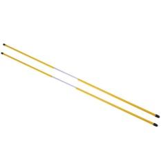 Toko 2 Pcs Golf Alignment Tongkat Swing Tour Pelatih Rod Ball Mencolok Aid Kuning Intl Yang Bisa Kredit