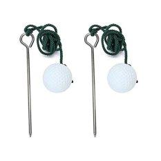 Harga 2 Pcs Golf Driving Range Ball Praktik Pelatihan Membantu Aksesoris Intl Fullset Murah