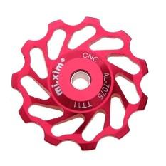 Harga 2Pcs Mtb Bike Ceramic Pulley Rear Derailleur 11T Guide Cycling Jockey Wheel Red Intl Termurah