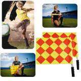 Jual 2 Buah Wasit Linesman Bendera Sepak Bola Piala Sepak Bola Rugby Diamond Gaya Bendera Isyarat Branded