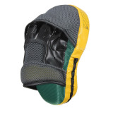 Diskon 2Pcs Target Mma Boxing Mitt Focus Punch Pad Training Glove Karate Muay Thai Kick New Yellow Intl Oem