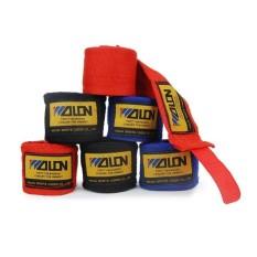 2 Pcs Lebar 5 Cm Panjang 2.5 M Kapas Olahraga Tali Tinju Tangan Wrap Muay Thai MMA Taekwondo FIGHTING Bandage Tangan Sarung Tangan Wraps 1 Pari-biru-Intl