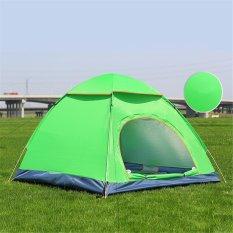 Cara Beli 3 4 Orang Berkemah Hiking Tenda Gratis Camping Lantern Intl