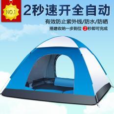 Jual 3 4 Orang Lipat Berkemah Hiking Tenda Termasuk Free Led Light Murah Tiongkok