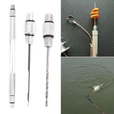 3-In-1 Lensa Kail Pancing Pengeboran Jarum Bor Tackle Rigging Alat Kit  Set-Internasional