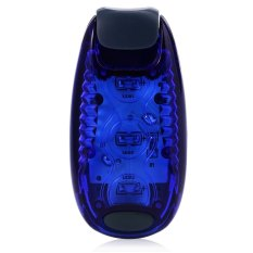 3 Leds Safety Warning Light With Clip For Cycling Runing Blue Intl Diskon Akhir Tahun