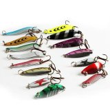 Beli 30 Pcs Colorful Artificial Bait Fishing Lure Kit 3 7G Minnow Popper Spinner Spoon Logam Lure Iscas Nyicil