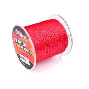 300 M Senar Pancing PE Empat Anyam Benang Ikan-Line Warna: Merah Ukuran: