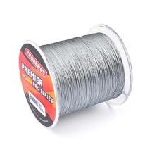 300 M Memancing Baris PE Empat Strand Braid Ikan-line Grey 4.0/40LB-Intl