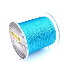 300M Multifilament Superbraid Sea Fishing Line Colorfast Braided Line 12Mm Line Diameter Maximum Tension 8Lb 3 6Kg Blue Di Tiongkok