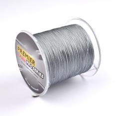 300 M Multifilamen Superbraid Laut Pancing Colorfast Dikepang Line 0.33mm Line Diameter Maksimum Ketegangan 40lb/18.1 Kg Grey