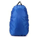 Spesifikasi 35L Tahan Air Debu Hujan Cover Travel Hiking Backpack Camping Rucksack Bag Baru Biru Baru