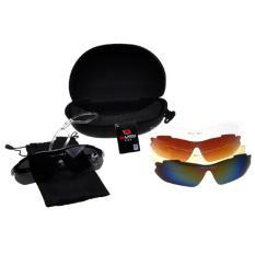 Ulasan Tentang 360Dsc Kacamata Hitam Oulaiou 0089 Untuk Bersepeda Uva Uvb Uv400 Sports Georgia Lensa Tahan Ledakan 5 Buah Per Setel