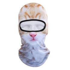 3D Animal Pattern Face Mask Motorcycle Bicycle Football Party Outdoor Sport - intl