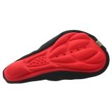 Harga 3D Likra Silikon Gel Yang Terbuat Dari Nilon And Bantalan Kursi Penutup Sadel Sepeda Bantal Yang Lembut Cocok Untuk Jenis Sepeda Merah Seken