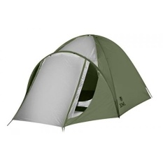 3OWL Everglades 5-Person Tent Perfect for Hiking, Camping, and Outdoors (Green) - intl