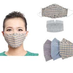 Jual 3 Buah Kapas Anti Debu Berbahaya Gas Masker Mulut Biru Ungu Kuning Memeriksa Online