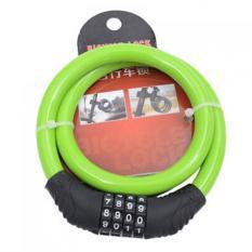 Jual 4 Kombinasi Digit Sandi Bersepeda Keamanan Kunci Kabel Kawat Baja Hijau International Antik