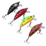 4 Pcs 4 5G 5Cm Minnow Fishing Lure Fishing Hard Sinking Bait Tackle Intl Murah