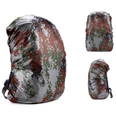 45L Outdoor Hiking Camping Ransel Kedap Air Covers (Digital Kamuflase)