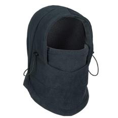 4 Ever Hangat Luar Ruangan Windproof Topi 6 Macam Cara Topi Thermal Wajah Topeng Topi Leher Helm Topi Anti- Terorisme Bersepeda Topi (Warna: Hitam)-Intl