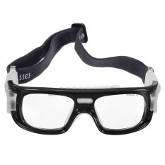 4pcs Basketball Soccer Football Sports Protective Elastic Goggles Eye Safety Glasses Black - Intl