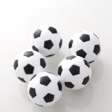 Jual Cepat 4 Pcs Indoor Game Foosball Plastik Bola Sepak Bola Sepak Bola Fussball Hadiah Intl