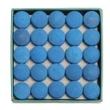 Beli Barang 50 Pcs Glue On Pool Billiards Leather Blue Cue Tips Box Game Sport 9Mm 10Mm 13Mm Intl Online