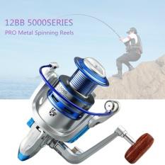 Harga 5000 Series 12 Bantalan Bola 5 2 1 Memancing Reel Fishing Spinning Reel Fishing Tackle Reel Intl New