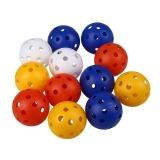 Harga 50 Pcs Plastik Aliran Udara Berongga Golf Latihan Praktek Olahraga Bola Aksesoris Intl Original