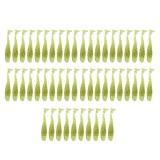 Spesifikasi 50 Pcs Soft Lure T Tail Fish Soft Bait Umpan Lembut Buatan Blackfish Striped Bass Fishing Gear Menangani Spinning Alat Internasional Online