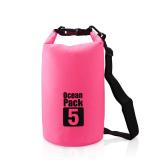 Toko Jual 5L Ocean Pack Penyimpanan Tahan Air Tas Kering Pouch Untuk Perahu Kayak Hiking Surfing Merah Intl
