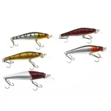 Jual 5 Pcs Minnow Fishing Lure Umpan Buatan Fishing Hook Ay107 Sz Xcs® Asli