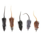 Beli 5Pcs Soft Mice Shape Fishing Lure Bait Fishing Tackle For Snakehead Intl Terbaru