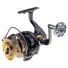 6000 / 7000 Series 13+1 BB Aluminum Spool Spinning Fishing Reel Long Distance Surfcasting Reel with Metal Handle - intl