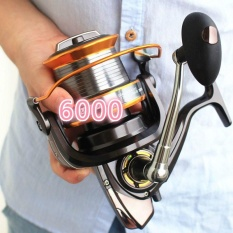 6000Size 12+1 Ball Bearings Big Trolling Fishing Reels Feeder Metal Fishing Reel Carp Carretilha De Pesca Molinete Shimano - intl