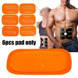 Harga 6 Pcs Penggantian Gel Sheet Pad Untuk Latihan Otot Gear Abs Enam Pad Body Fitness Intl Origin