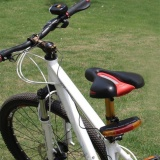 Toko 7 Led Sepeda Sepeda Turn Signal Directional Brake Light Lamp 8 Sound Horn Murah Di Tiongkok