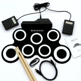 7 Pad Usb Portable Silicone Roll Up Foldable Musik Elektronik Drum W Stick Intl Oem Diskon