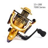 7000 Seri 13 1Bb High Speed Gear Ratio 5 5 1 Trolling Long Shot Casting Laut Besar Spinning Fishing Reel Intl Oem Diskon