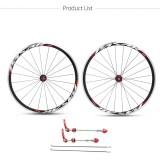 Promo 700C Road Sepeda Depan Belakang Ultra Light Wheel 30Mm Clincher Bike Wheelset Velg Internasional Murah