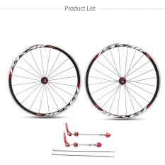 Toko 700C Road Sepeda Depan Belakang Ultra Light Wheel 30Mm Clincher Bike Wheelset Velg Internasional Terlengkap Indonesia