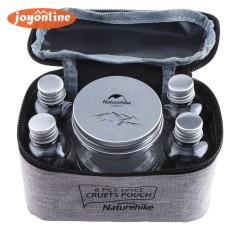7 Pcs/set Portabel Spice Cruets Bumbu Jar Kantung Kemah Bbq Organizer- Internasional By Joyonline.