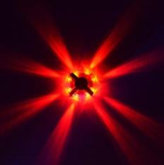 8-LED Roda Sepeda Hub Warning Light Bike Jari-jari Night Light Lampu Keselamatan 3 Jenis Merah-Intl