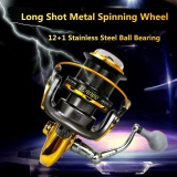 Harga 8000 Series 12 1Bb 4 6 1 Fishing Reel Trolling Long Shot Casting Spinning Wheel Dengan Full Metal Cnc Rocker Lengan Internasional Oem Asli