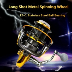 Spesifikasi 8000 Series 12 1Bb 4 6 1 Fishing Reel Trolling Long Shot Casting Spinning Wheel Dengan Full Metal Cnc Rocker Lengan Internasional Yang Bagus
