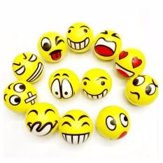 8 Pcs 6.3 Cm Bola Mainan Untuk Anak-Anak Emoji Wajah Squeeze Pu Bola Moderen Stress Bola Santai Emosional Tangan Pergelangan Tangan Olahraga Stress Mainan-Internasional By Super Price Mall.