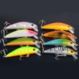 8 Buah Ikan Teri Penangkapan Ikan Umpan Engkol Umpan Crankbait Kait Bass Mengatasi 7 Cm 8 1 G Oem Diskon 50